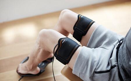 太ももが同時に鍛えられる「Foot Fit Plus」も