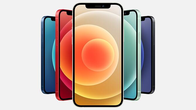 iPhone12のラインナップ比較