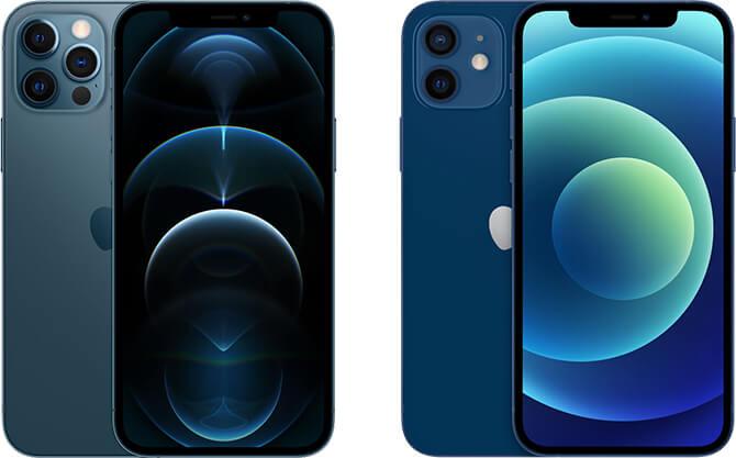 iPhone12シリーズ比較