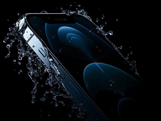 iPhone 12 Proの防塵防水機能