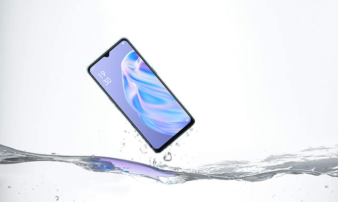 OPPO Reno3 Aの防水防塵機能