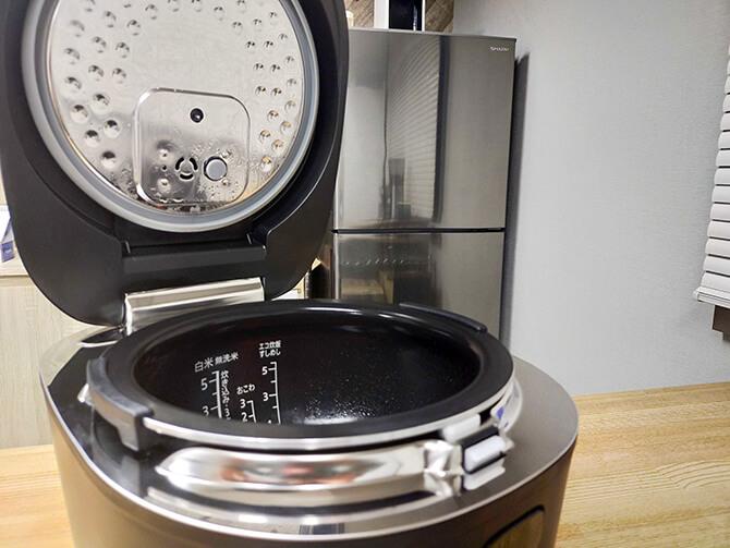 SHARPのIH炊飯器KS-HF10Bの注意点