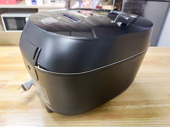 SHARPのIH炊飯器KS-HF10Bに取っ手がない