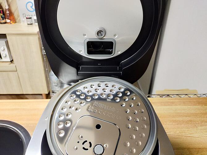 SHARPのIH炊飯器KS-HF10Bの手入れ方法