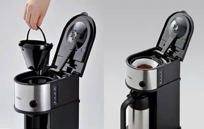 サーモスコーヒーメーカーはペーパードリップ