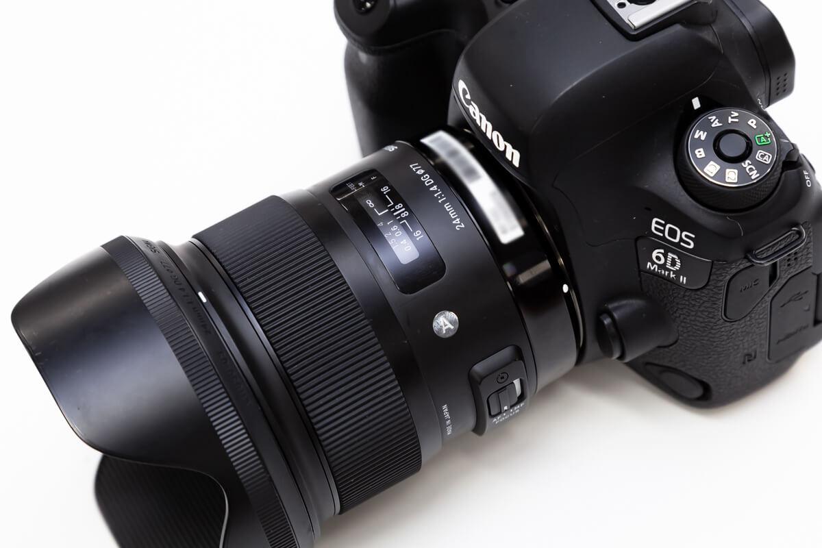 SIGMA 24mm F1.4 DG HSM Art デザイン性