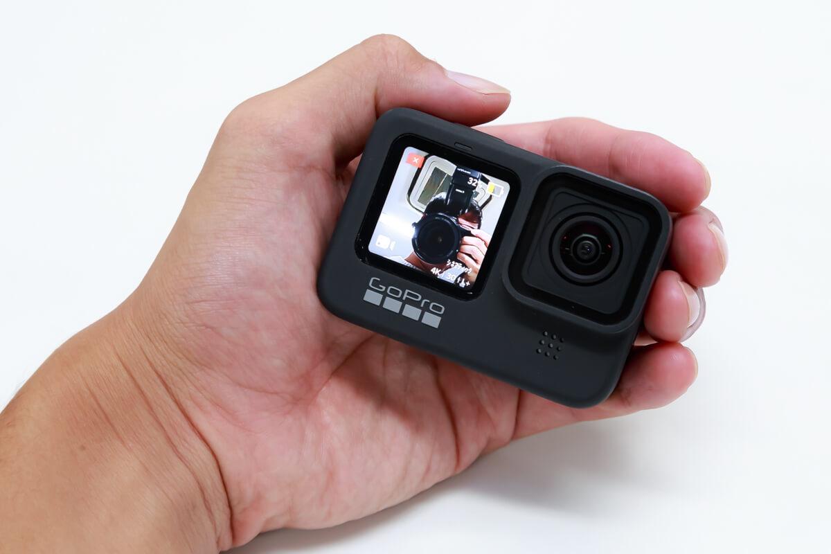 GoPro HERO9 Black フロントディスプレイ