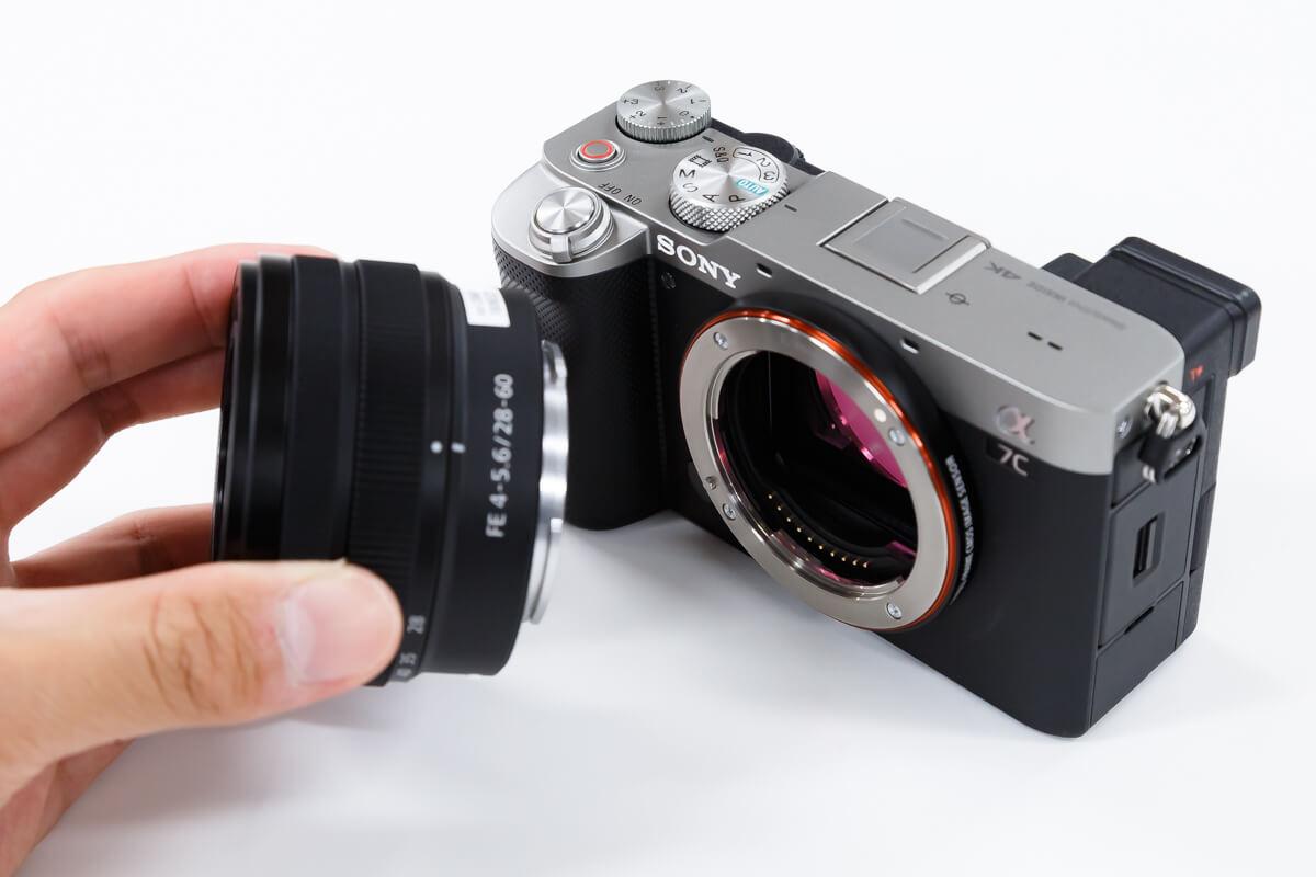 SONY α7C レンズキット