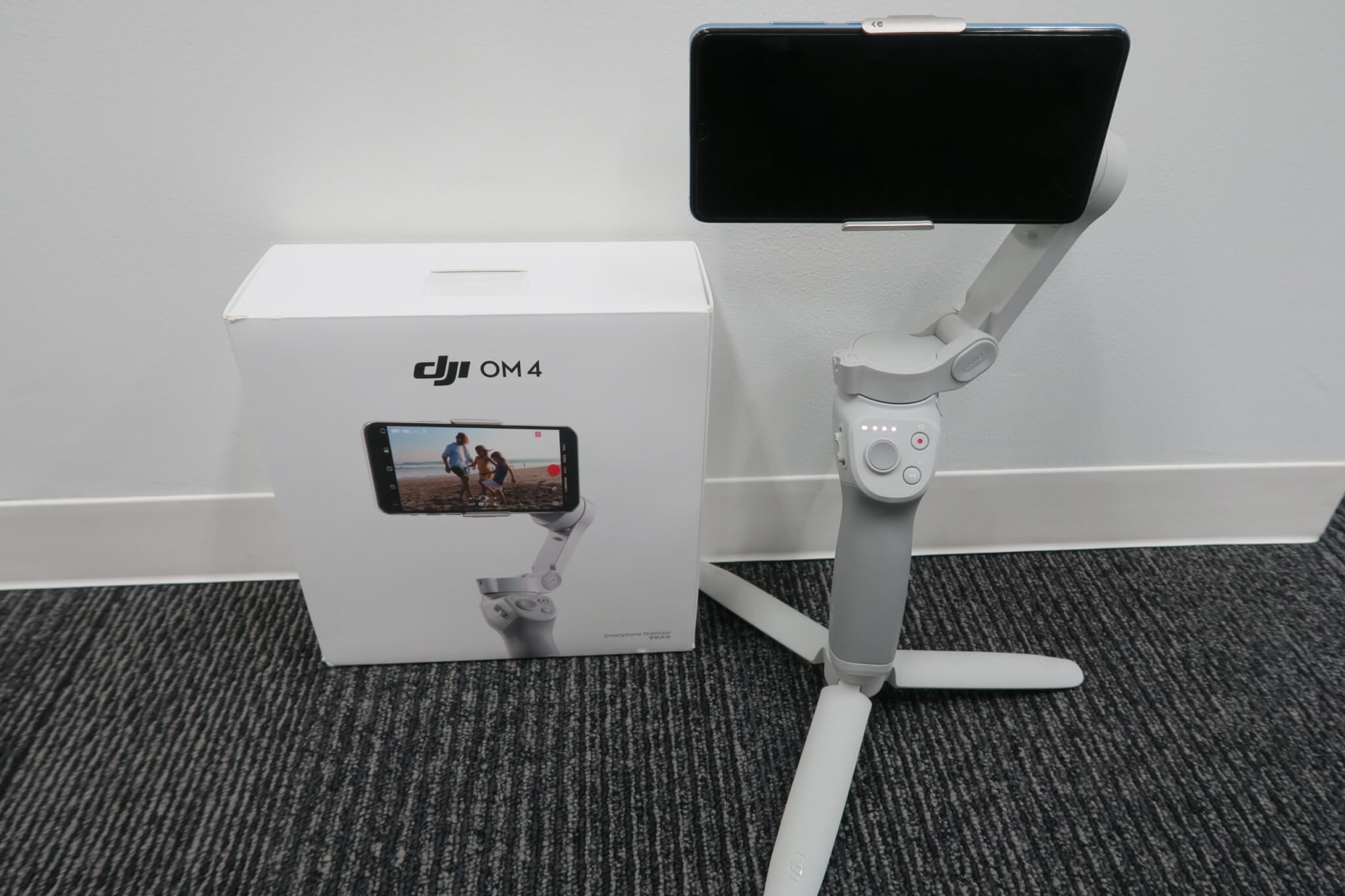 DJI OM4を実機レビュー。新たな機能やOsmo Mobile3との違いを徹底検証!