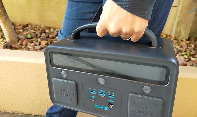 Anker PowerHouse II 400の実機レビュー