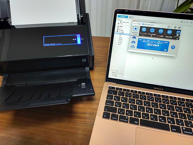 ScanSnap FI-IX500AはWi-Fi接続可能