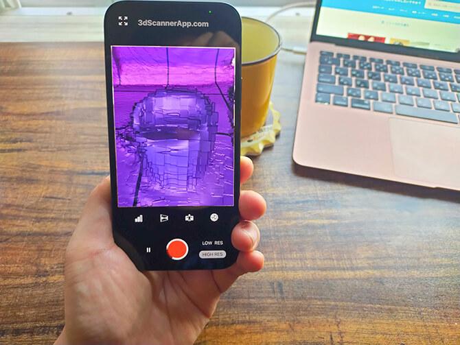 iPhone 12 Proは3Dアプリだと本体発熱がすごい