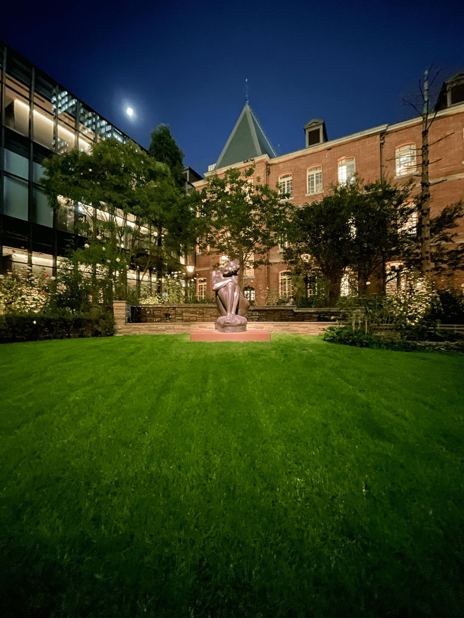 iPhone 12 Proの夜間の超広角撮影