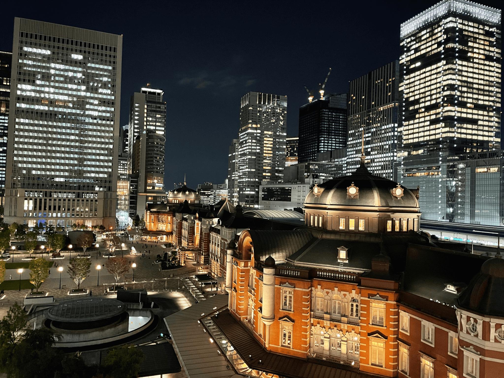 iPhone 12 Proの夜間の広角撮影