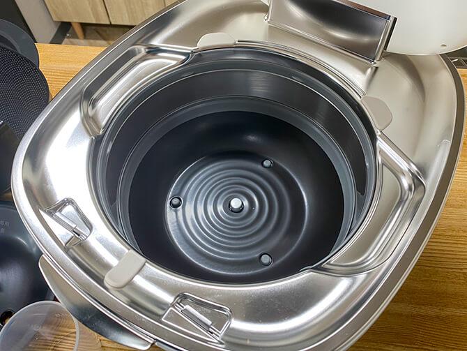 タイガーの炊飯器「JPL-A100」の土かまど