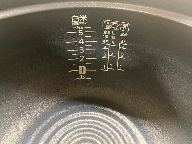 タイガーの炊飯器「JPL-A100」の本土鍋