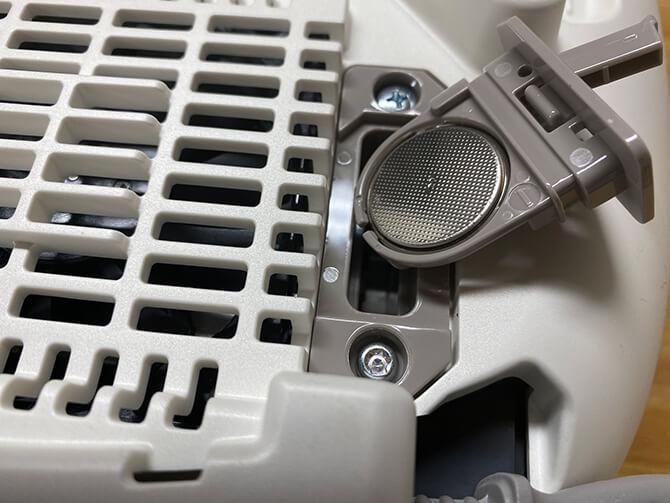 タイガーの炊飯器「JPL-A100」の電池交換