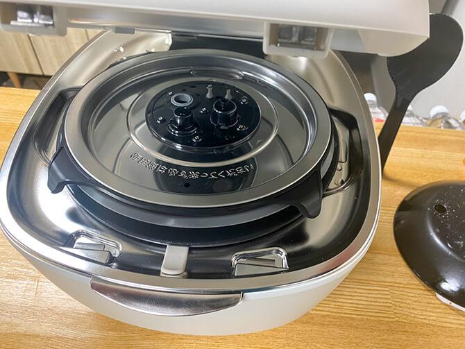 タイガーの炊飯器「JPL-A100」の注意点