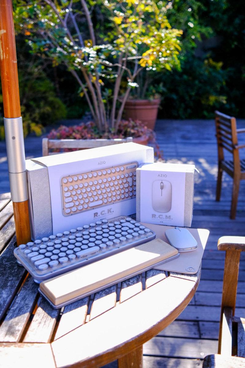 AZIO レトロクラシック・コンパクトキーボード MK-RCK-W-02-JP