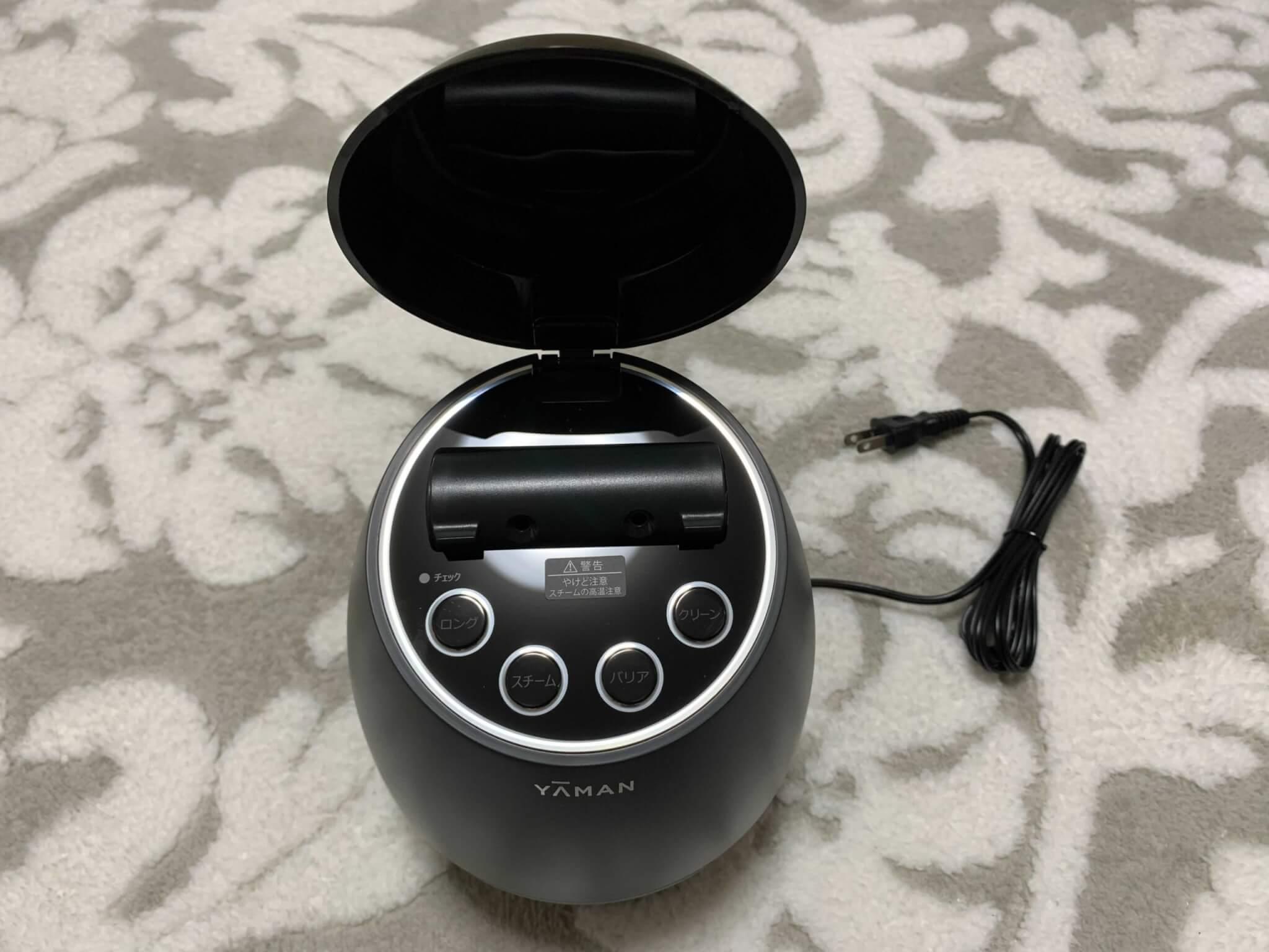 ヤーマン毛穴ケアスチーマー「ブライトクリーン」を実際に使って効果を検証