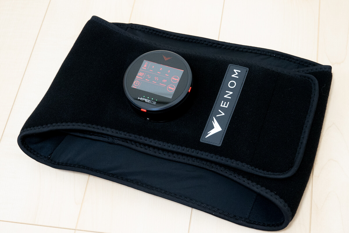 HYPERICE「VENOM BACK (ベノムバック)」2週間使用レビュー!腰痛持ち必見の温熱+振動ケアの効果とは?