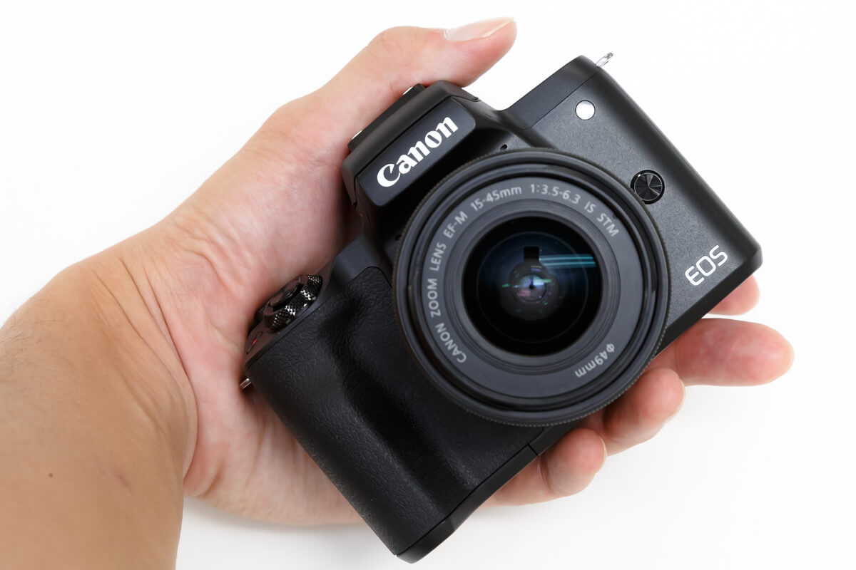 Canon EOS Kiss M2 レンズ