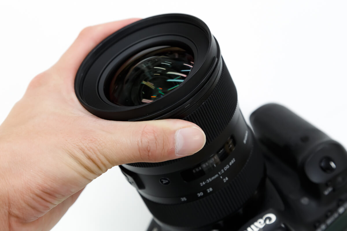 SIGMA 24-35mm F2 DG HSM Art レビュー