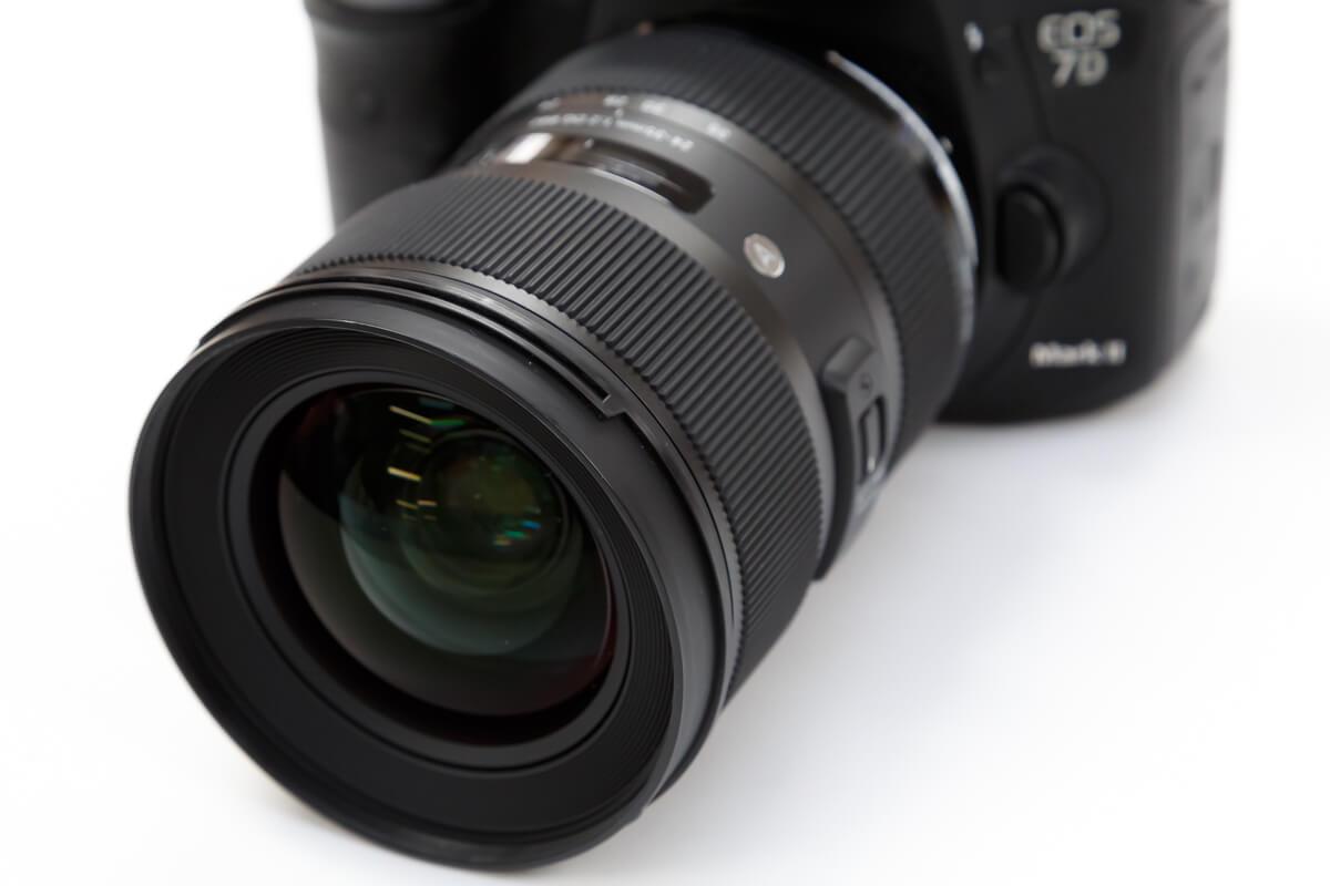 SIGMA 24-35mm F2 DG HSM Art 明るさ