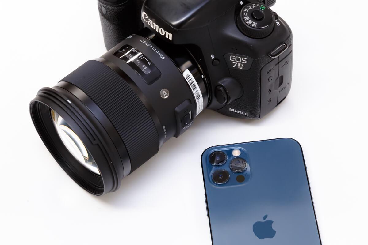 一眼カメラ スマートフォン 比較