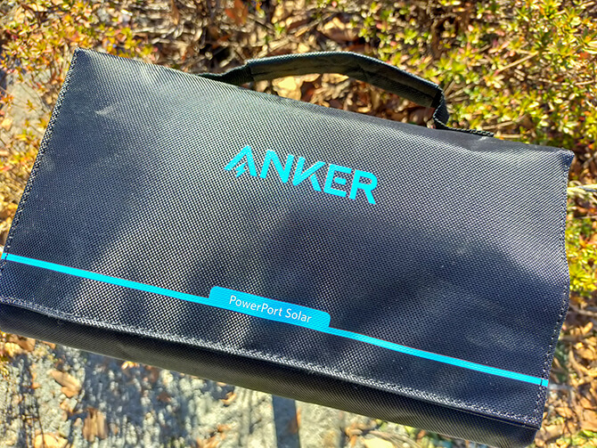 Anker PowerPort Solar 60の実機レビュー