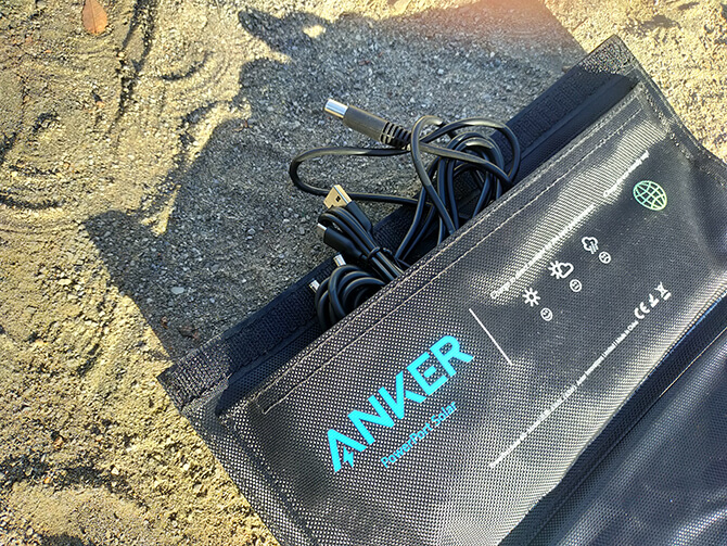 Anker PowerPort Solar 60の内側ポケット