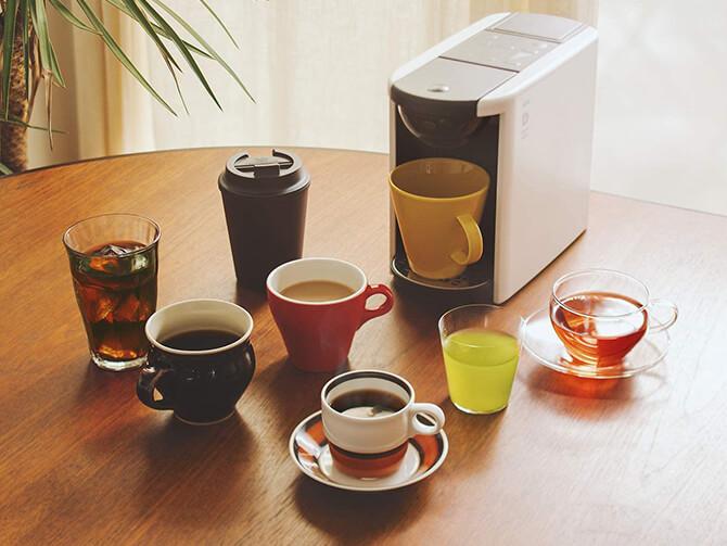 カプセル式コーヒーメーカーのメリット