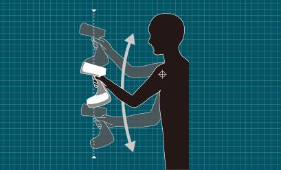 ティファール衣類スチーマー「アクセススチーム」の特長 人間工学に基づいた使いやすいデザイン
