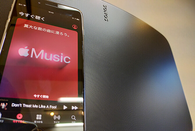 Sonos Fiveの高品質なHi-Fiスピーカー