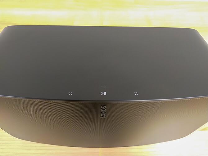 Sonos Fiveのコントロール部分