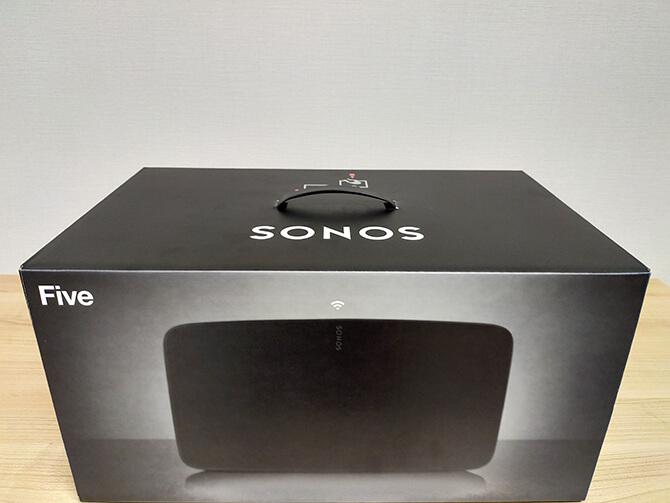 Sonos Fiveの開封レビュー
