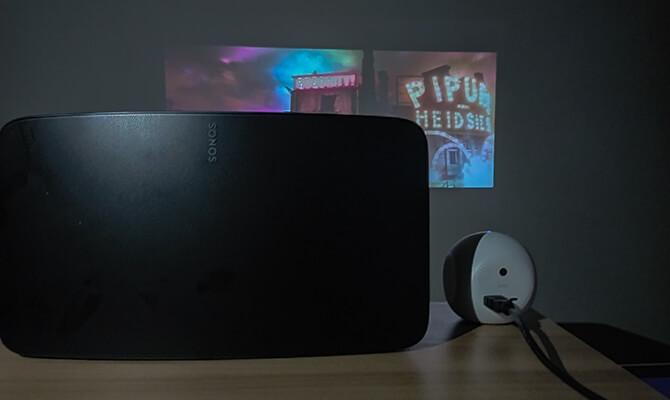 Sonos Five(ソノスファイブ)のプロジェクター接続