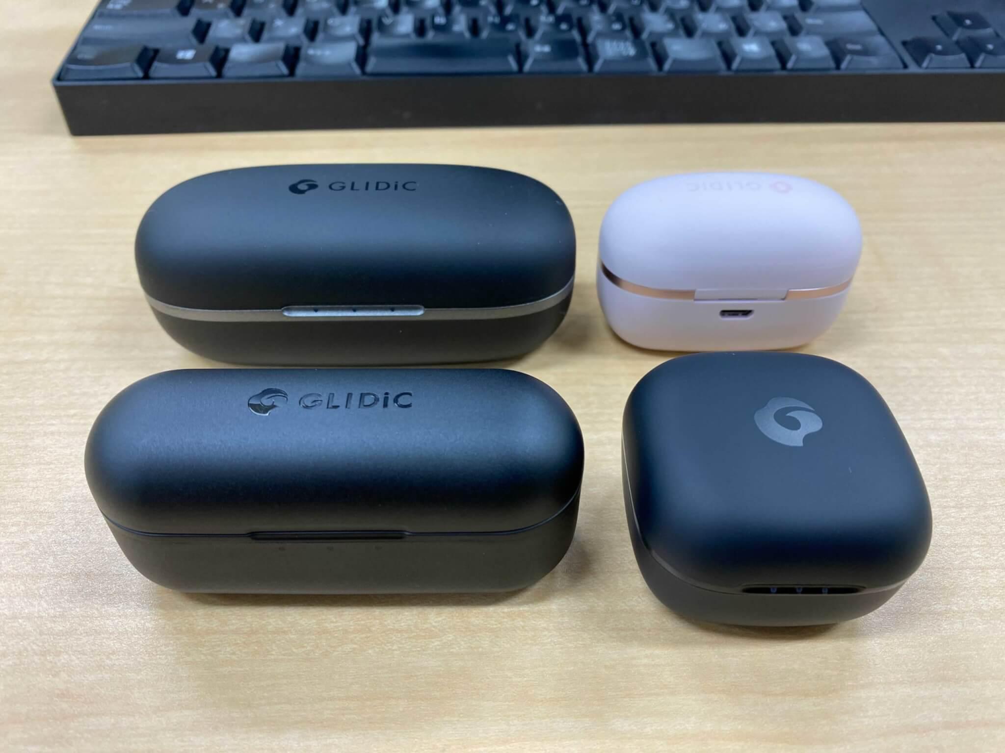 GLIDiCの完全ワイヤレスイヤホン4機種を比較