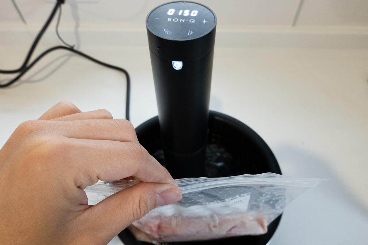 BONIQ Proを実際に調理しながら使い方を解説
