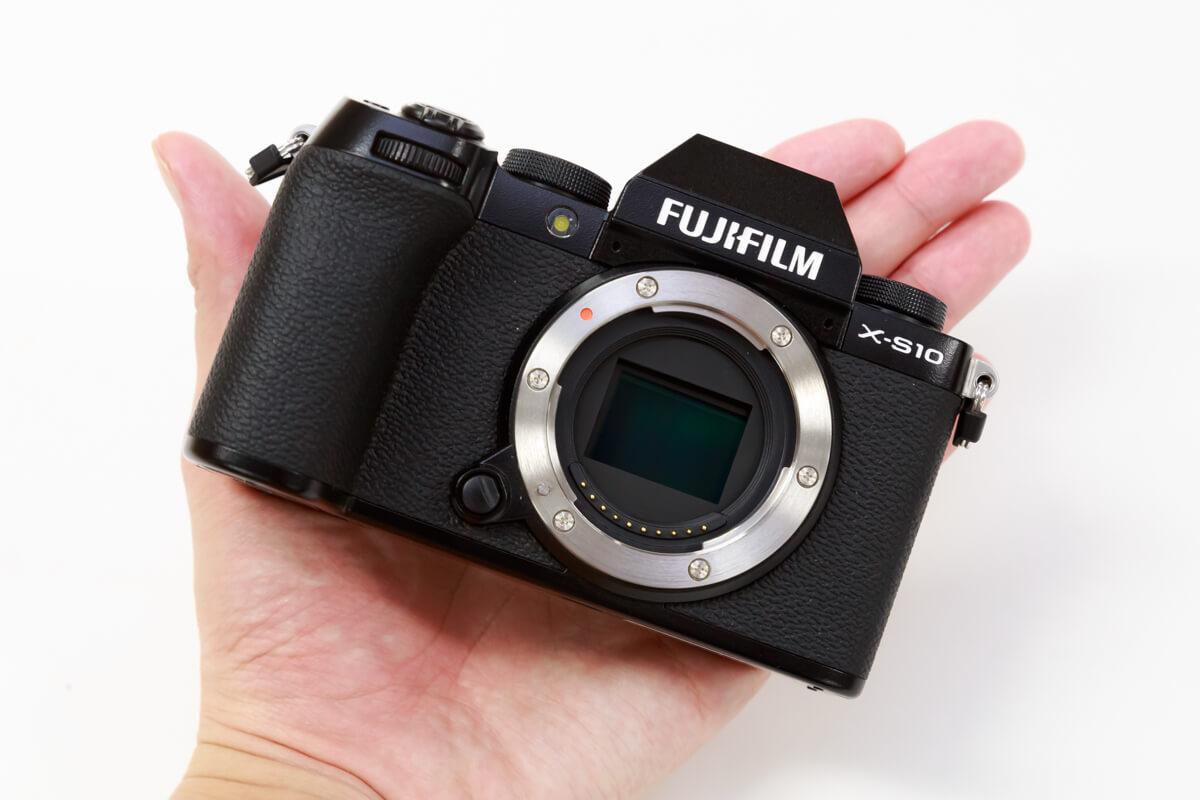 FUJIFILM X-S10 小型 軽量