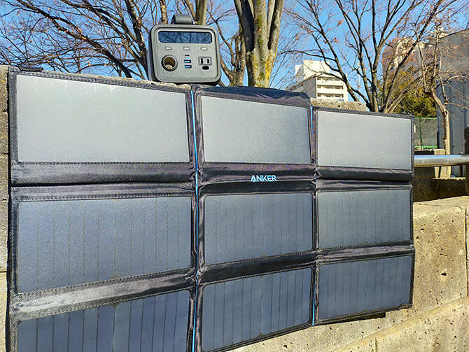 Anker PowerPort Solar 60のDC出力
