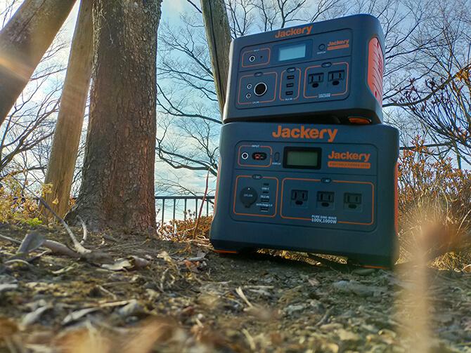 Jackeryのポータブル電源 1000は積み重ねOK