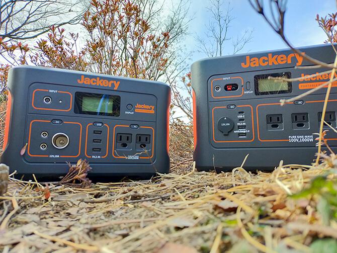 Jackeryのポータブル電源 1000のバッテリー容量
