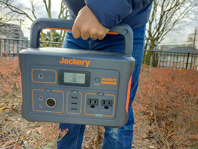 Jackery(ジャクリ)のポータブル電源700の実機レビュー