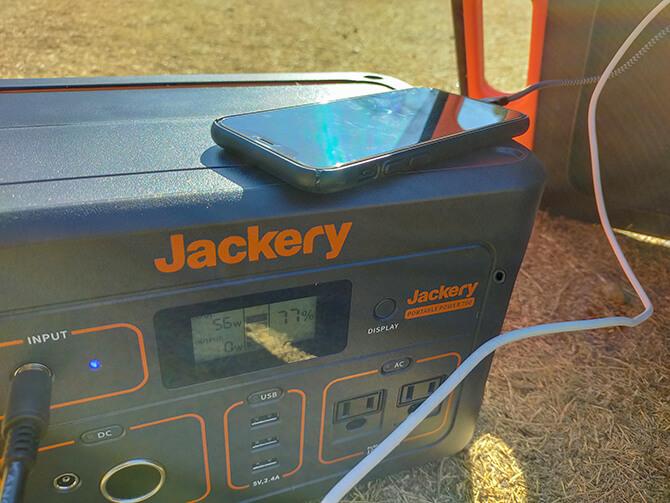 Jackeryのソーラーパネル100で同時充電する際の注意点
