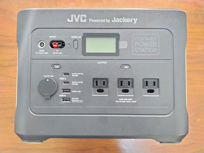 JVCケンウッドのBN-RB10-Cの筐体