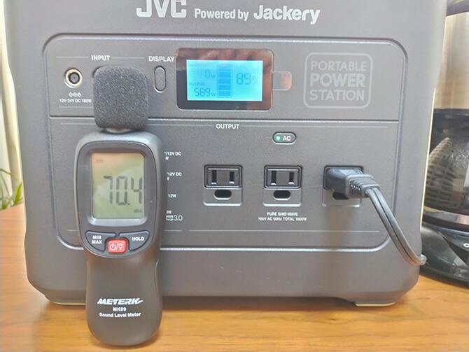 JVCケンウッドのBN-RB10-Cの動作音