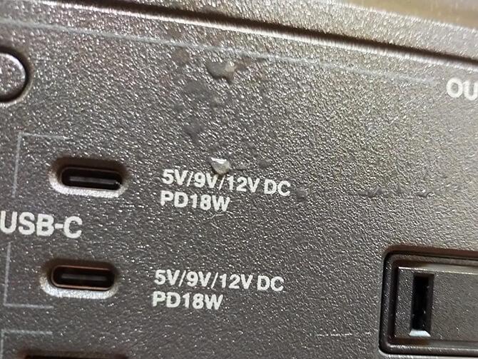 JVCケンウッドのBN-RB10-Cは防水・防塵仕様ではない