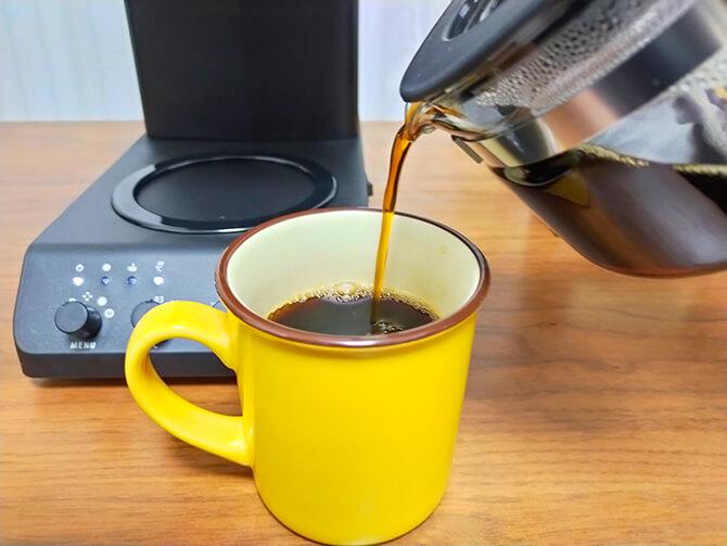 ツインバードの全自動コーヒーメーカー CM-D457Bの注意点