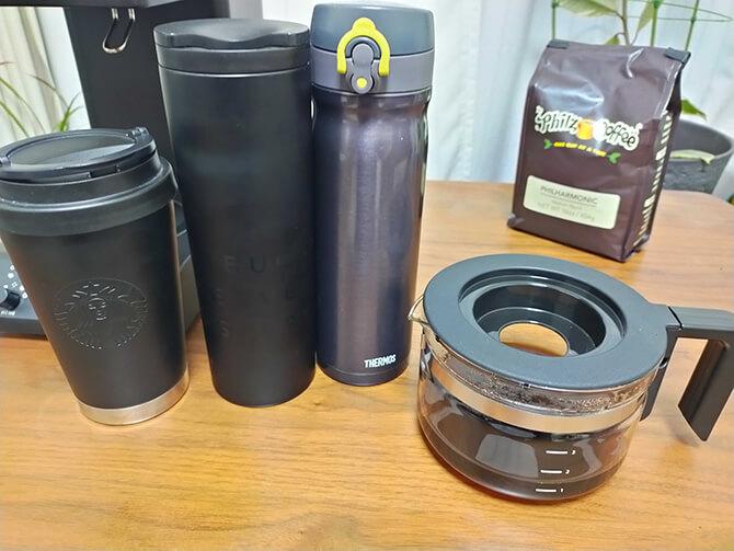 ツインバードの全自動コーヒーメーカー CM-D457Bのサーバー